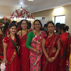 Teej Party 2018, and Teej Puja organized by Hindu Temple of WI