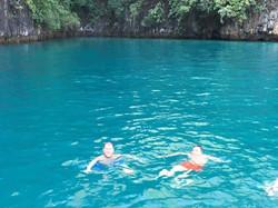 swimming Phi Phi