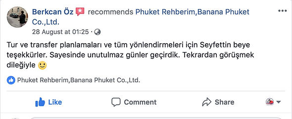 Phuket Rehberi Yorumları