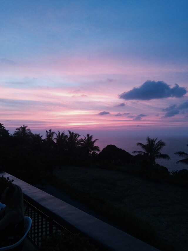 Sunrise in Phuket