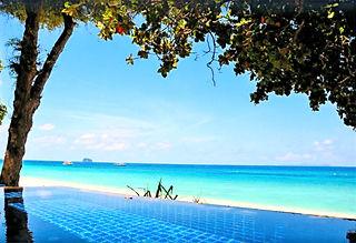 Phuket kendi sahili olan otel