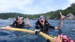 Phuket diving fun divers dsd