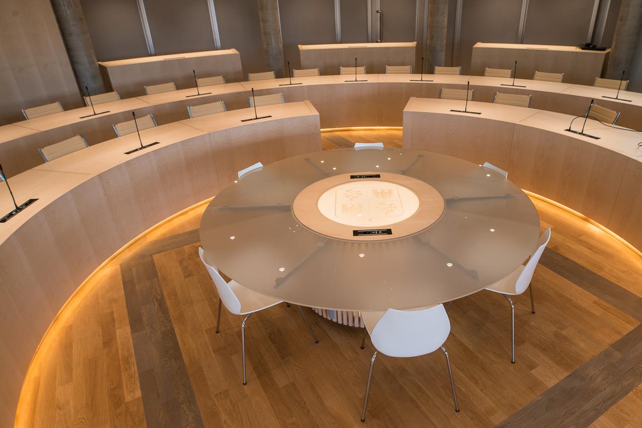 Domotique salle du conseil