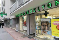 Eclairage pharmacie