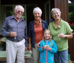 with Marianne, Elisabeth and Faylinn