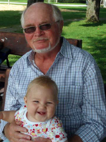 with baby Faylinn