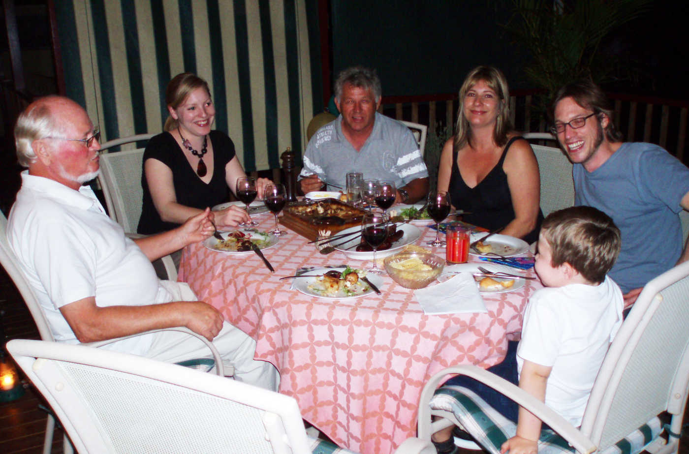 Dinner in Green Point