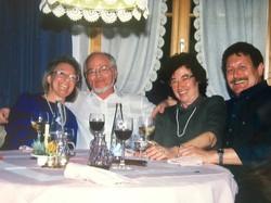 mit Janice, Erika und Sepp