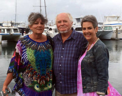 mit Claudine und Esther