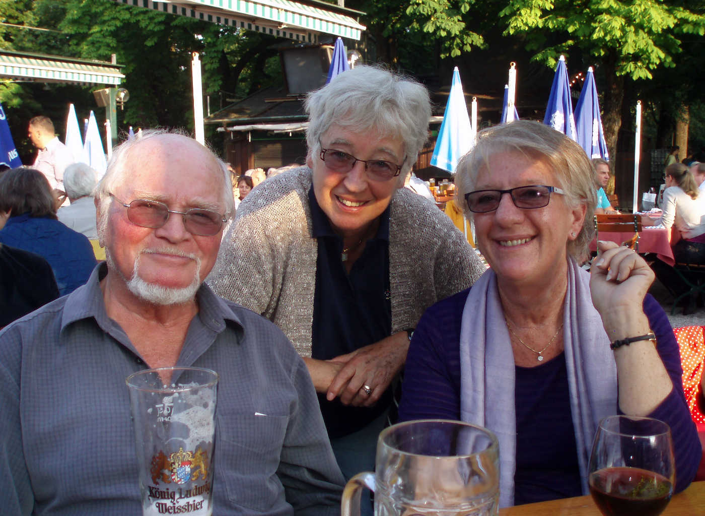 mit Erika und Janice