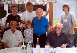 mit Alfons, Beppi und Familie