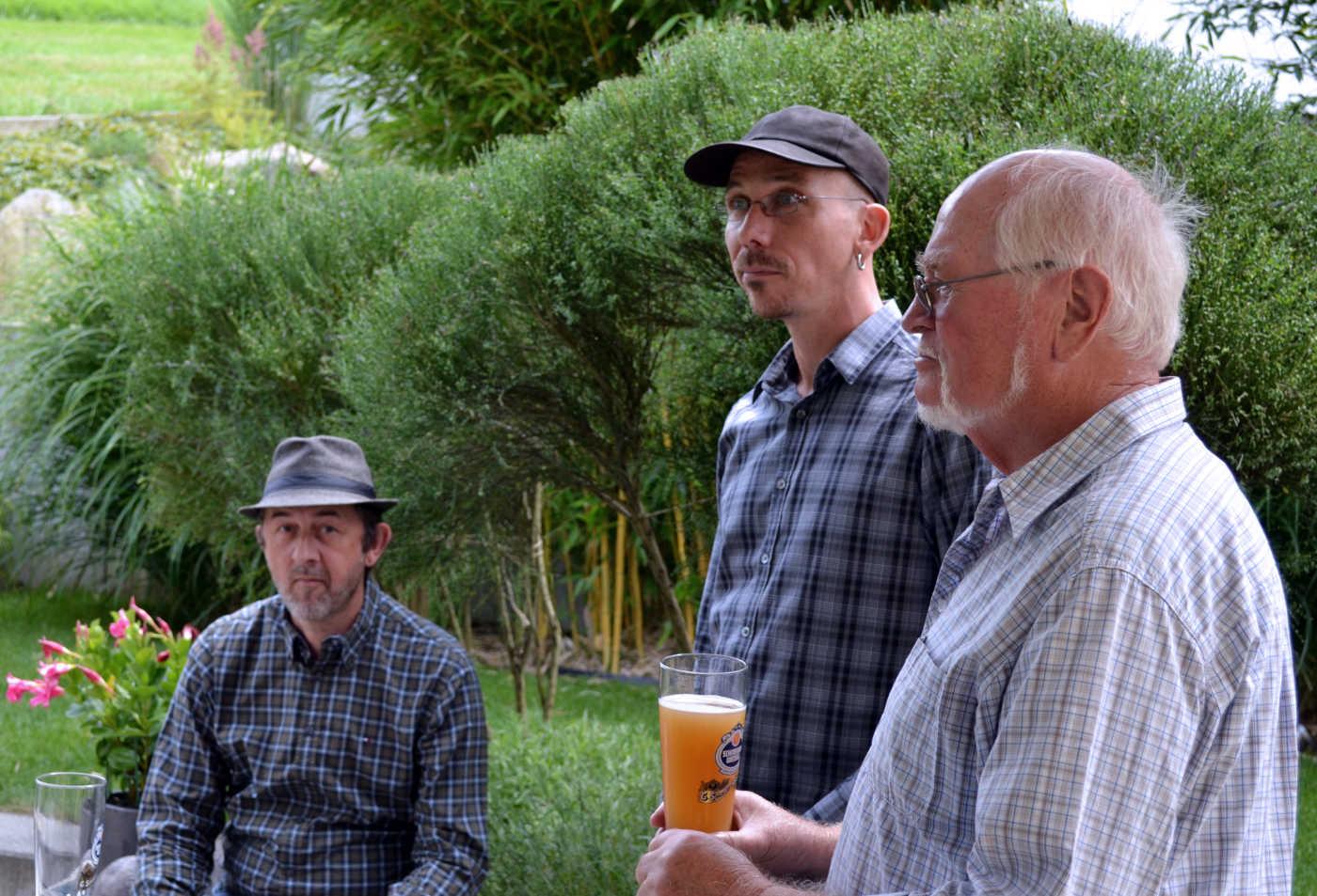 mit Hermann und Markus
