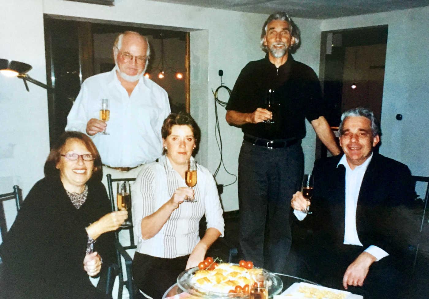 mit Doris, Alison, Richi und Luzi