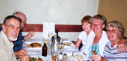with Hermann, Marilyn, Janice and Barbi