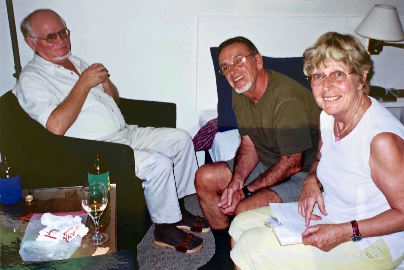 with Hermann and Barbi