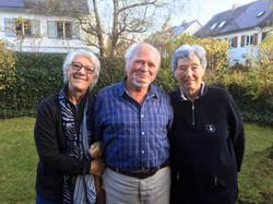 with Janice and Erika