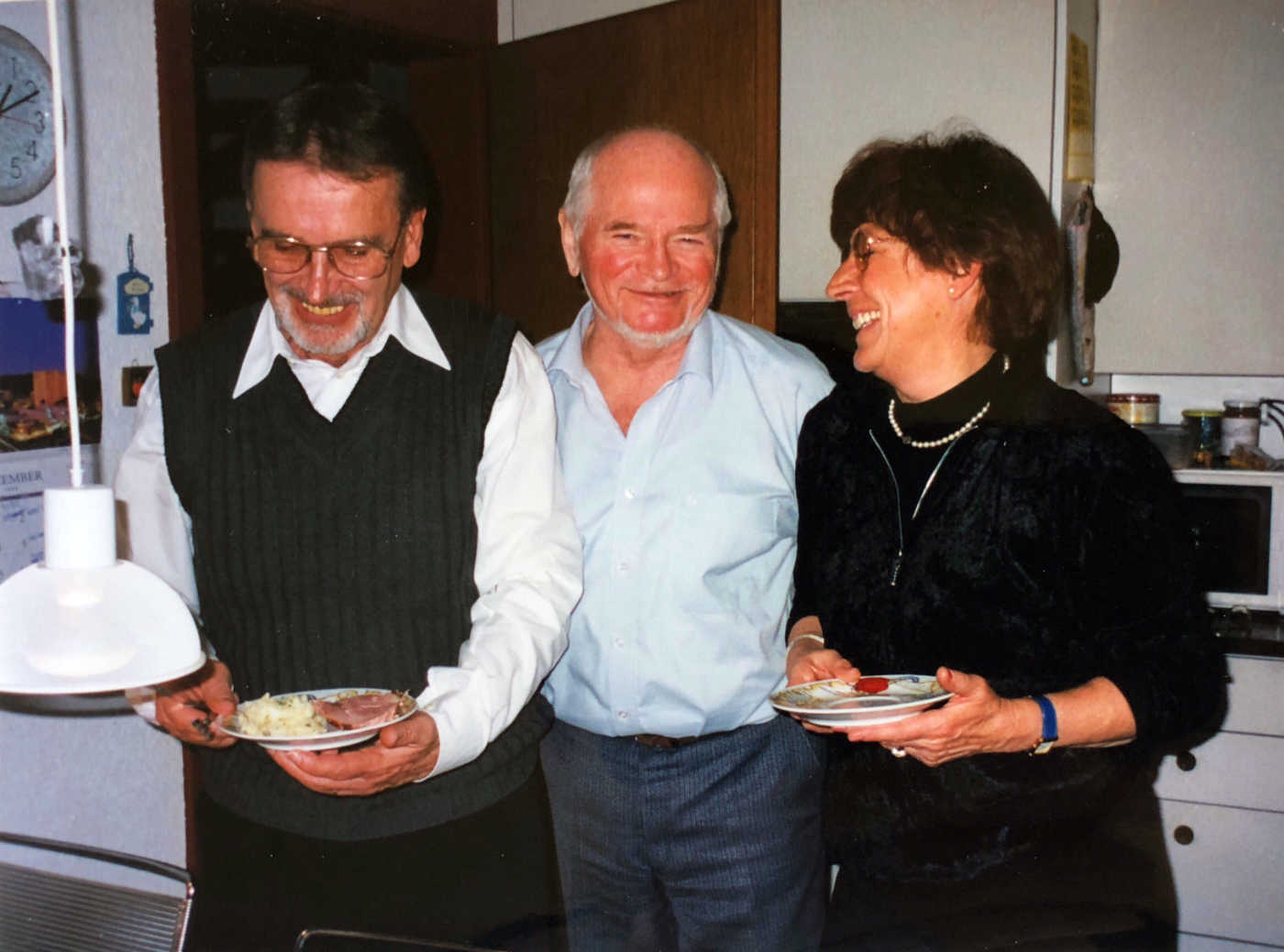 mit Hermann und Barbi