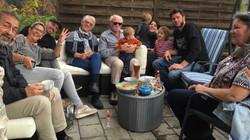 Familie bei Stefan und Manu