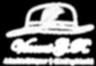 Signature. White on transparent logo Low