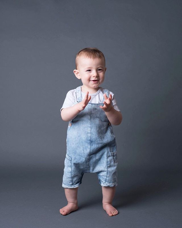 How gorgeous is this little man on his f