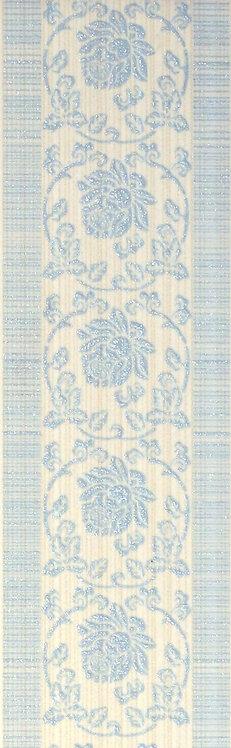 Бордюр голубой 6х19,8 1501-0076