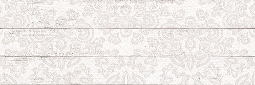 Плитка настенная ШЕББИ ШИК декор белый 1064-0097  20х60