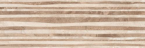 Настенная бежевый рельеф 17-10-11-493 20х60