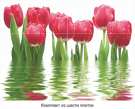 Панно Тюльпаны 750х1000