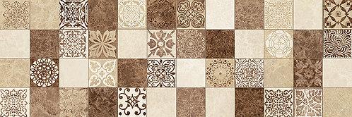 Настенная мозаика коричневый 17-30-11-486 20х60