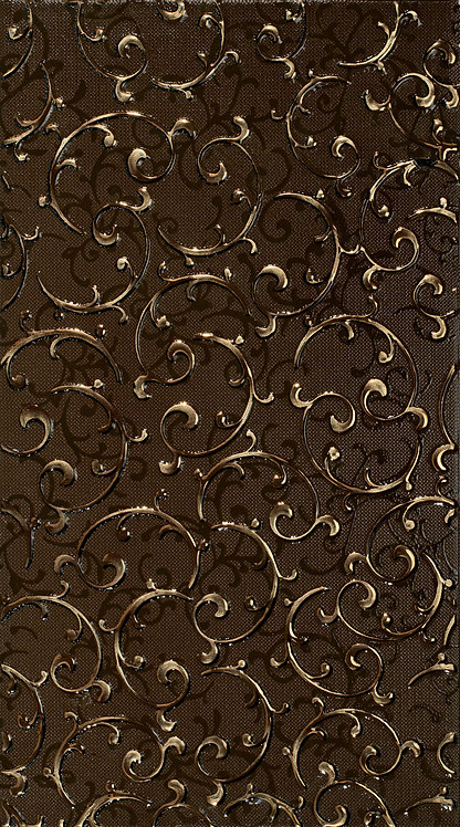Декор орнамент шоколад 25х45