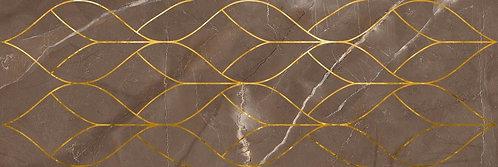 Декор Тресс марроне 200х600