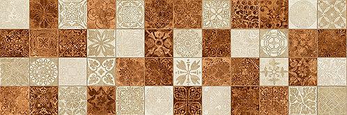 Настенная мозаика оранжевый 17-30-35-486 20х60