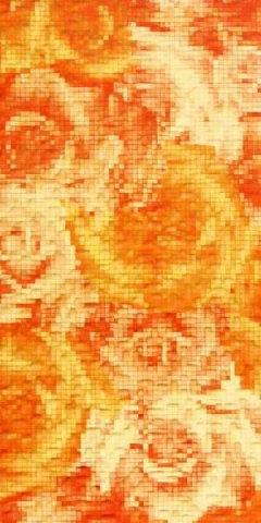 Декор оранжевый 20х40 1641-0022