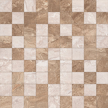 Мозаика коричневый+бежевый 30х30