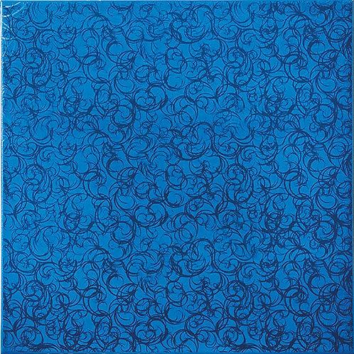 Напольная Брина синяя 35x35 см