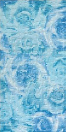 Декор голубой 9,8х39,8 1641-0023
