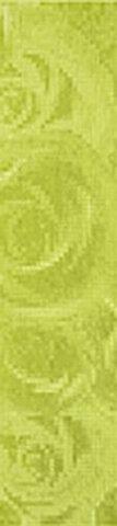 Бордюр салатовый 9х40 1504-0096