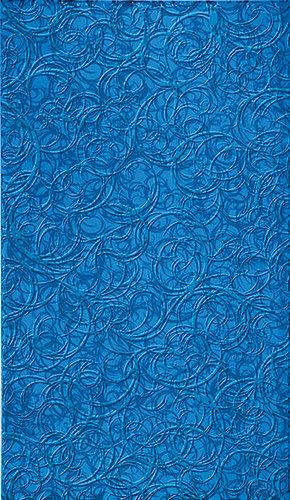 Настенная Брина Синяя 23x40 см