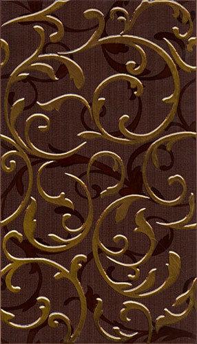 Декор Фантазия коричневый 23x40 см