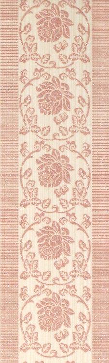 Бордюр розовый 6х19,8 1501-0077
