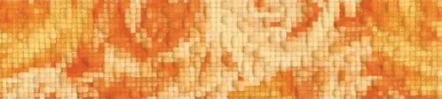 Бордюр оранжевый 19,8х4,5 1502-0531
