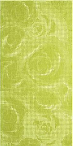 Декор салатовый 19,8х39,8 1641-0057