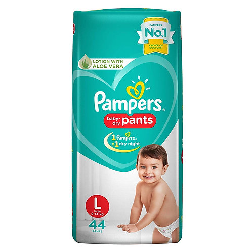 Pampers Large Pants 8 N (2 Piece Each)