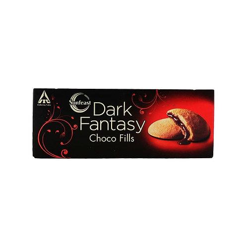 Sunfeast Chocofills Dark Fantasy Biscuit 75 g Pack of 2