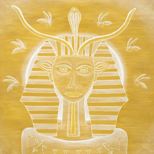 Face of Hathor (Invoked through Hatshepsut)