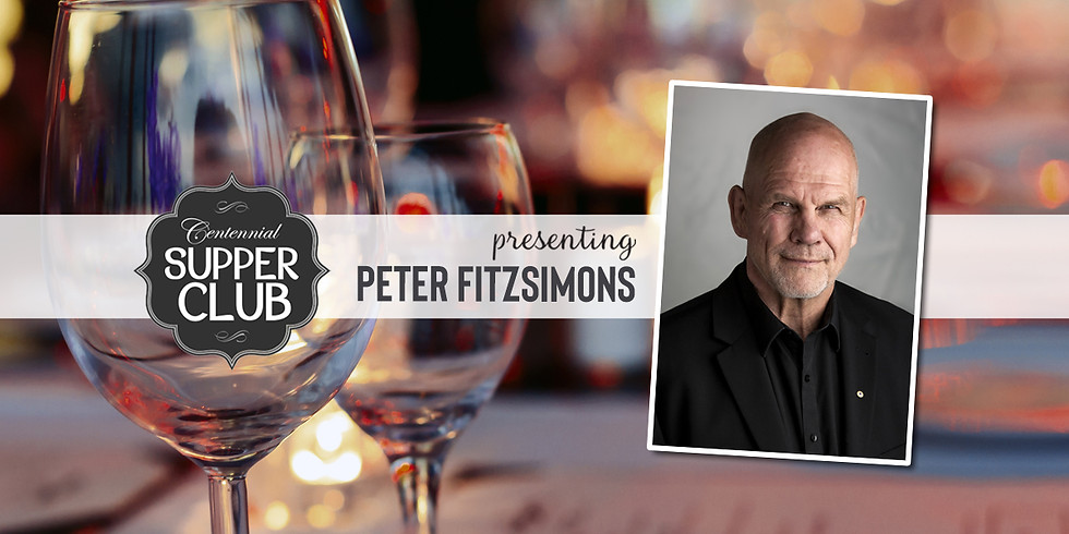 Supper Club with Peter FitzSimons