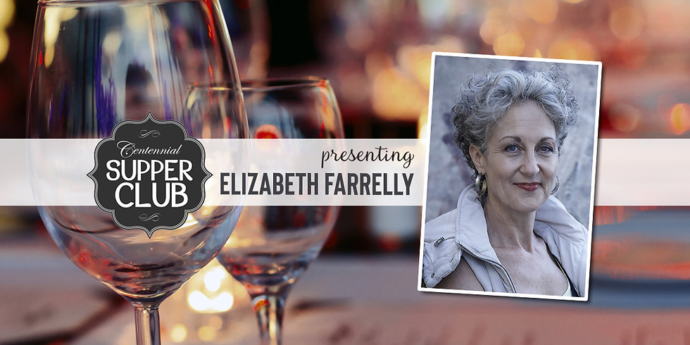 Supper Club with Elizabeth Farrelly