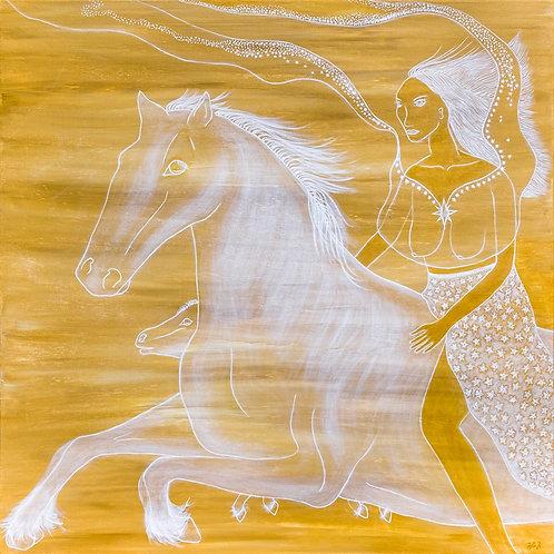 Riding Skyhorse