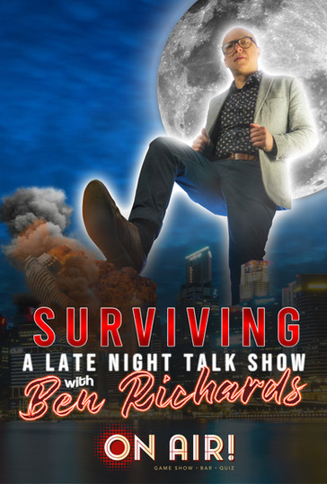Surviving a late night talk show