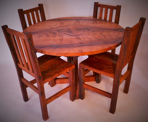 4 Mesquite Dining Table Chairs 475 Each